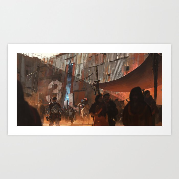 Gate 3 Art Print