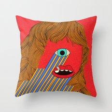 Smith Eyed Throw Pillow