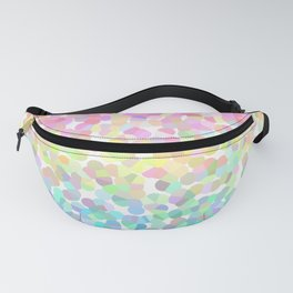 Abstract rainbow texture Fanny Pack