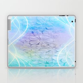 Pastel Floral Light Trails Abstract Laptop & iPad Skin