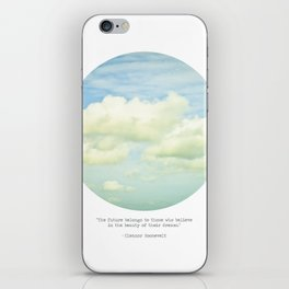 The beauty of the dreams iPhone Skin