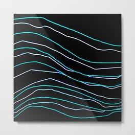 Light lines Metal Print