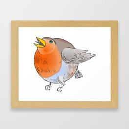 Big Bird Bertha Framed Art Print
