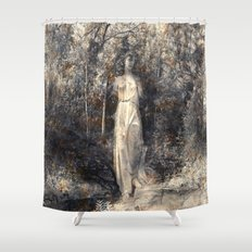 In the arms of Nature Shower Curtain