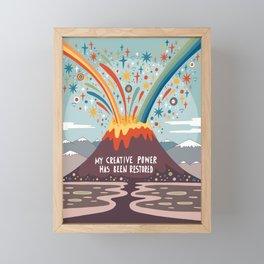My creative power Framed Mini Art Print