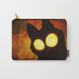 That unkown cat with big bright eyes Carry-All Pouch