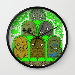 I Don't Think You're Ready for This Jelly Wall Clock
