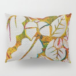 Leaves on the World Tree: Danish Beech and Oak Pillow Sham