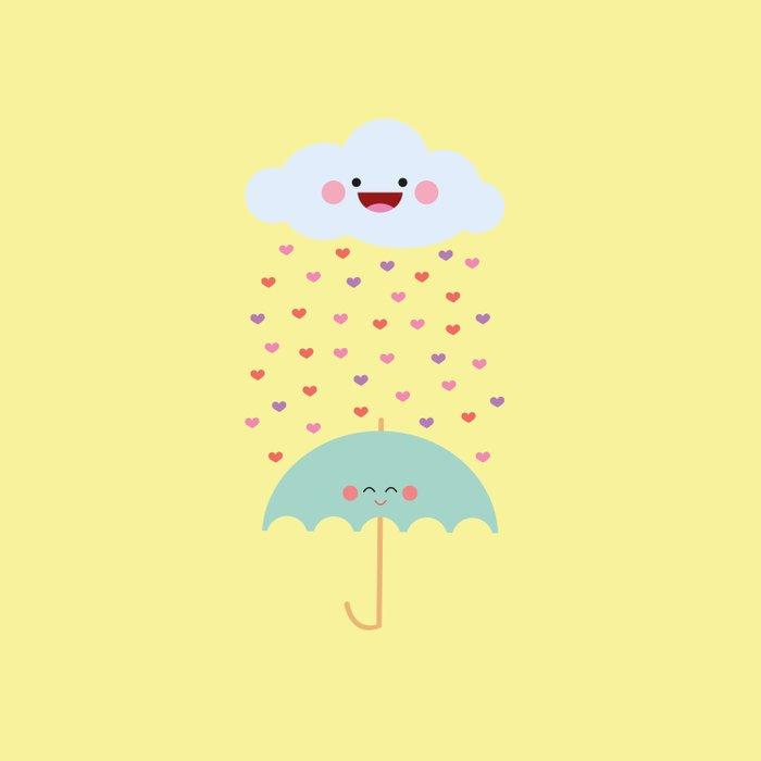 Love Rain Comforters