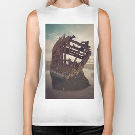Shipwrecked - The Peter Iredale Biker Tank