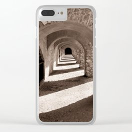 Corridors of Stone Clear iPhone Case