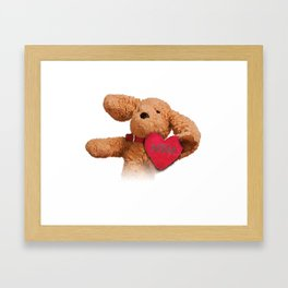 Puppup Celebrating Mother's Day Close-Up Framed Art Print