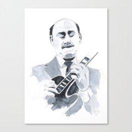 Joe Pass - Jazz Canvas Print