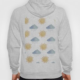 Sun and clouds  Hoody