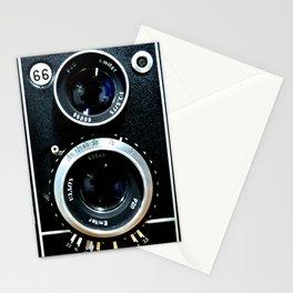 Vintage camera TLR Stationery Cards