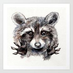 Magic! // Raccoon Art Print