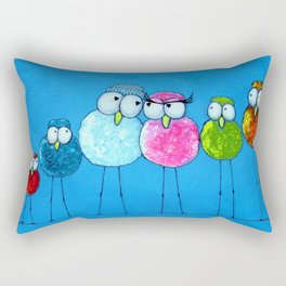 Love Birds 2 Rectangular Pillow