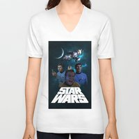 guardians of the galaxy V-neck T-shirts featuring Guardians of the galaxy by MartiniWithATwist