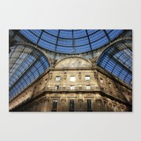 milan Canvas Prints featuring Milan by Killick