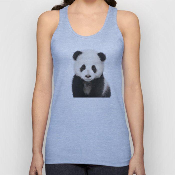 Panda Cub Unisex Tank Top