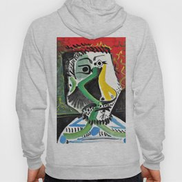 Pablo Picasso - Head of a man - Digital Remastered Edition Hoody