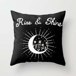 Rise & Shine II Throw Pillow