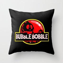 Bubble Bobble Throw Pillow