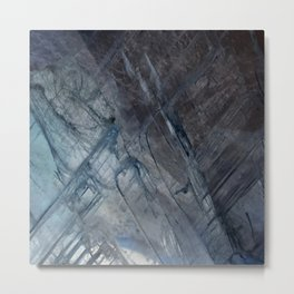 Linear Quartz 2 Metal Print