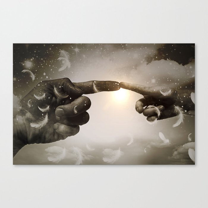 Divine Connection Canvas Print