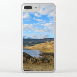 Currant Creek Clear iPhone Case