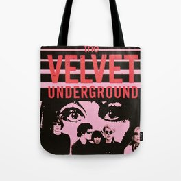 1968 Velvet Underground Concert Gig Vintage Advertising Poster Tote Bag