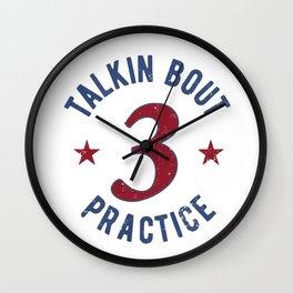 Allen Iverson Practice Wall Clock