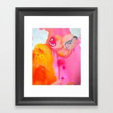 Little Fetus Waiting To Meet Us Framed Art Print