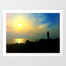 Sunset, Cape May Art Print