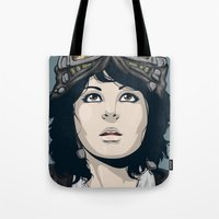 pilot Tote Bags featuring Pilot by Kimball Gray
