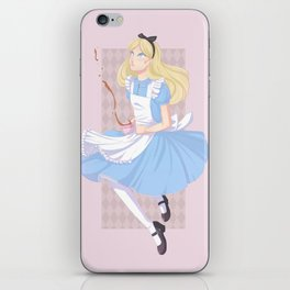 Alice iPhone Skin