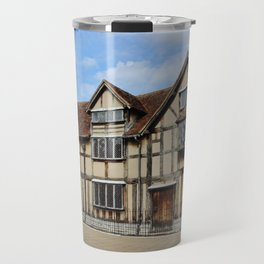 William Shakespeare's Birthplace Travel Mug