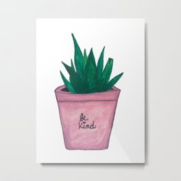 Joli Aloe Metal Print
