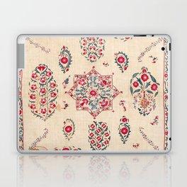 Nurata Suzani Southwest Uzbekistan Embroidery Laptop & iPad Skin
