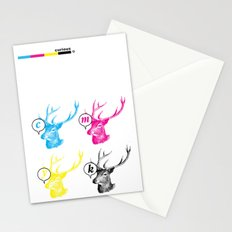 Unnatural Colors Stationery Cards