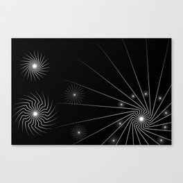 black and white (I) Canvas Print