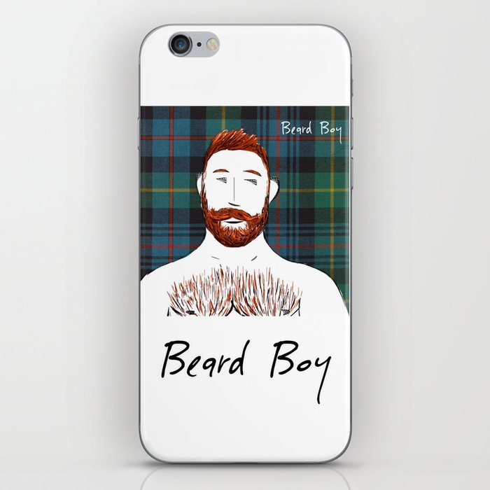 Beard Boy: Finlay iPhone Skin
