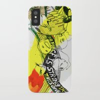donkey kong iPhone & iPod Cases featuring I WILL DEFEAT DONKEY KONG by Samantha Chiusolo