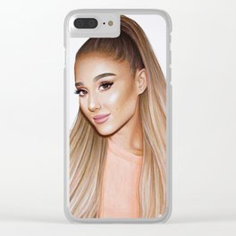Ariana Grande's Drawing Clear iPhone Case