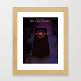 2001: A Space Oddysey Framed Art Print