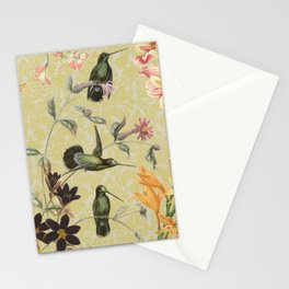 Yellow Hummingbird Stationery Cards