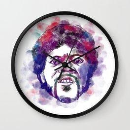 Jules vs Jimi 2 Wall Clock