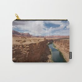 Colorado River from Navajo Bridge Carry-All Pouch