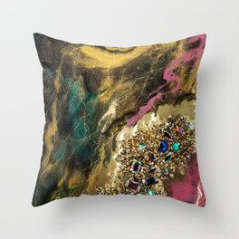 Dazzle  Mystrery Throw Pillow