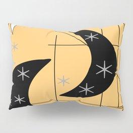 Mid-Century Boomerangs Yellow Pillow Sham